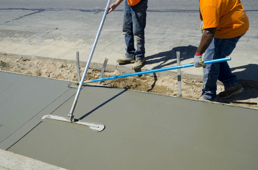 concrete paths, pavers, &walkways